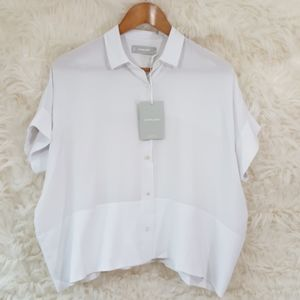 Everlane Silk Square Shirt nwt